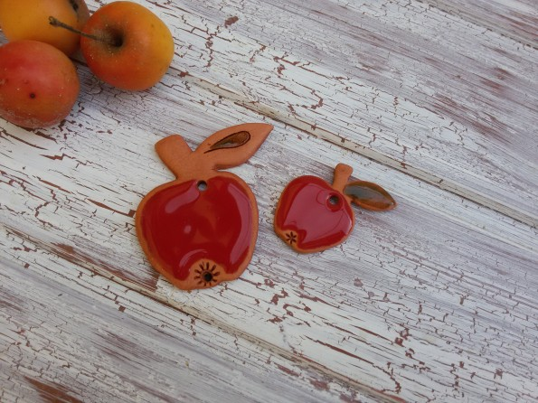 Jablíčka červené