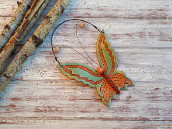 Motýlek zelený