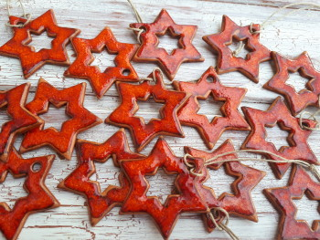 Hvězdičky červené